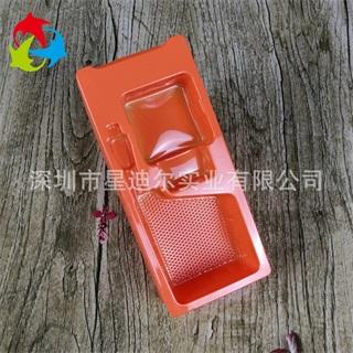 红色PVC吸塑盒