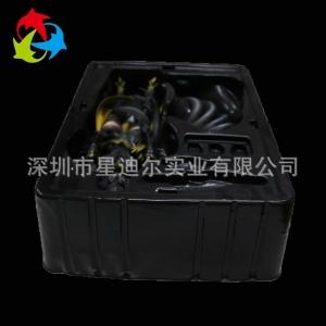 黑色玩具吸塑包装