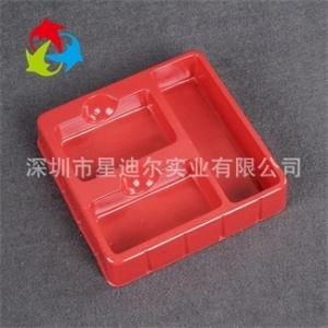龙岗红色PVC吸塑内托