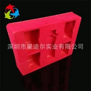 红色PS植绒吸塑盒